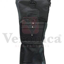 Nylonpedicuretrolley,zwart