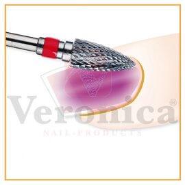 ToepassingPROMEDnagelfreeshardmetalenbit,kegel(rood)