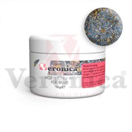 Chunkyglittermixacrylpoeder10gram:ICEBLUE