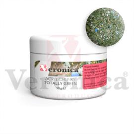 Chunkyglittermixacrylpoeder10gram:TOTALLYGREEN