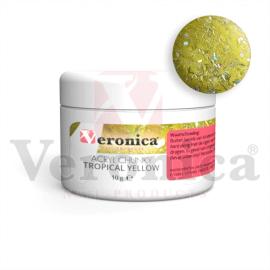 Chunkyglittermixacrylpoeder10gram:TROPICALYELLOW