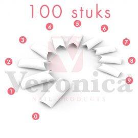 DOLFIJNnailtips/frenchtips,100stuks