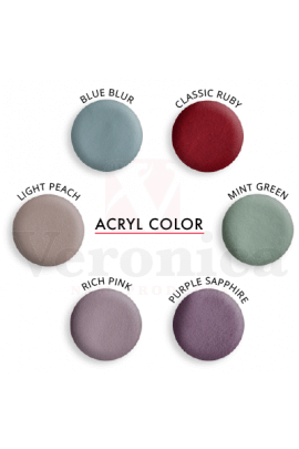 Coloracrylpoederkleuren