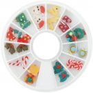 Carrousel 3D FIMO kerstnagels