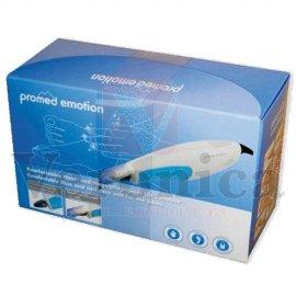 Verpakkingvanmanicure/pedicuresetPROMEDEmotion,incl.41deligbitjesset&LEDlicht.