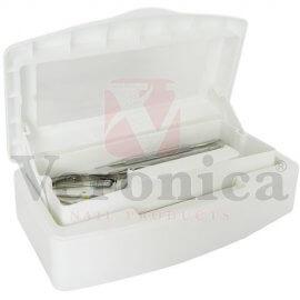 Desinfectiebox/instrumentenbakmetvenster